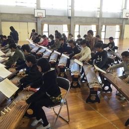 ふるさと学習 「琴の演奏体験」
