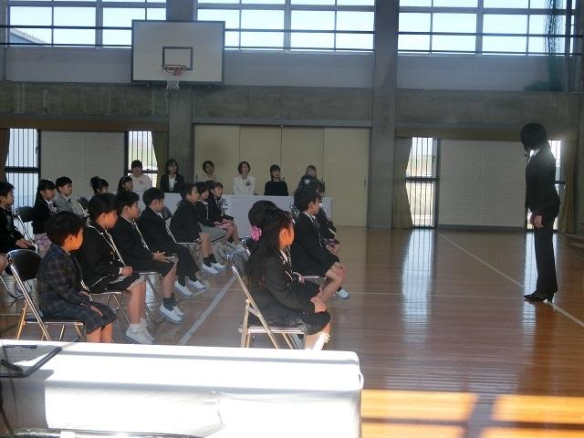 入学式 - 堀津小BLOG | 羽島市立堀津小学校