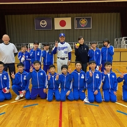 元中日ドラゴンズ選手 沢井選手による野球指導