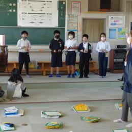 音楽の授業 4年生