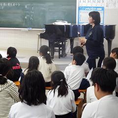 授業参観 4年生