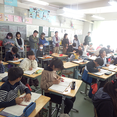 授業参観 6-1