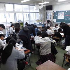 低学年 授業参観・学級懇談会・役員決め