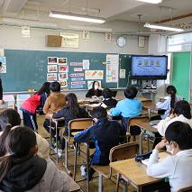 外国語活動の授業